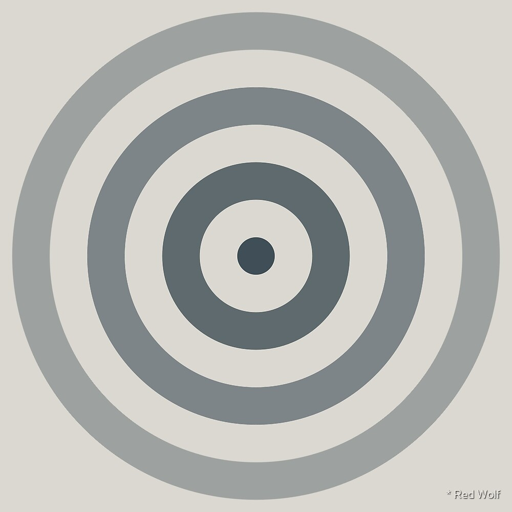 Geometric Pattern: Rondel: Pebble by * Red Wolf