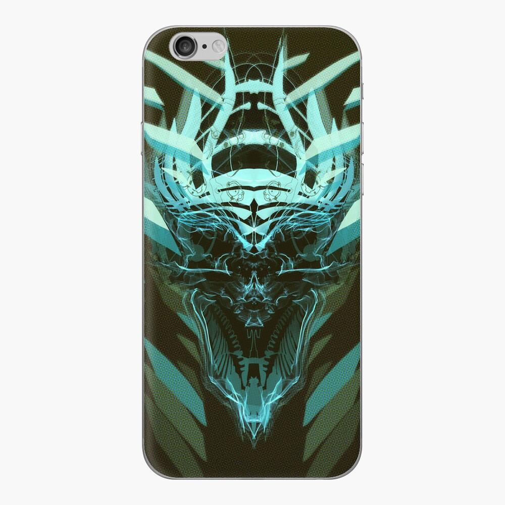 DK Skull green iPhone Skin