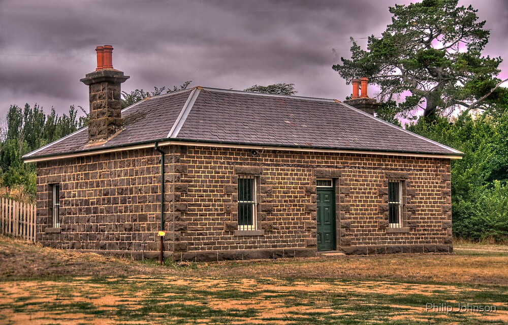 Anderson's Mill  - The Office c1861 - Smeaton, Victoria - The HDR Experience by Philip Johnson