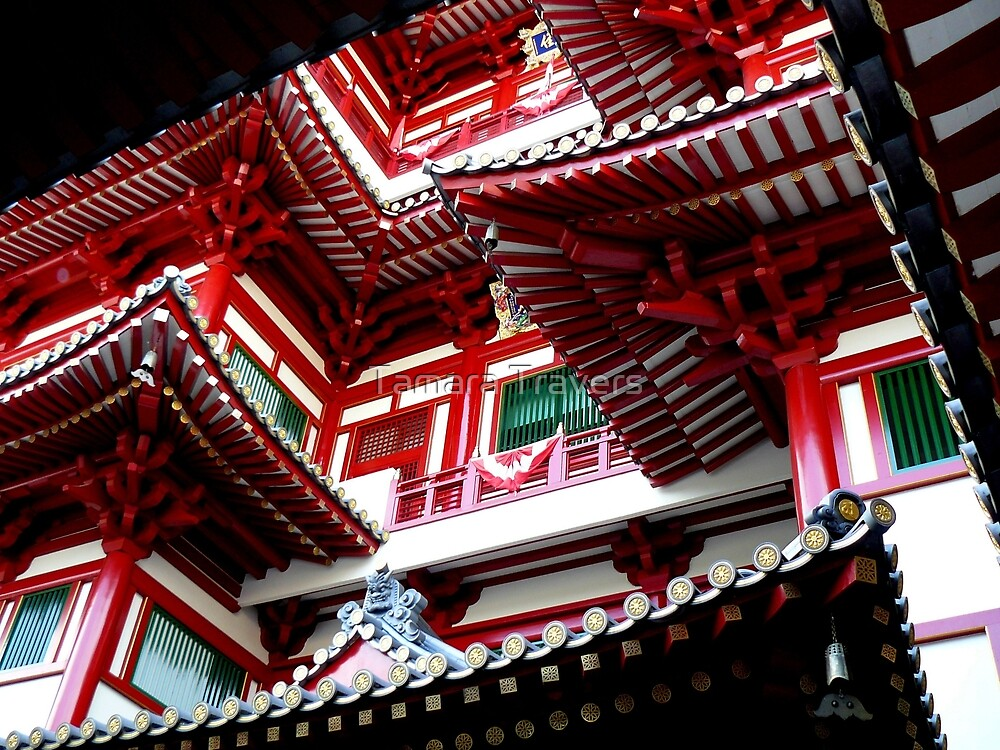 Buddha Tooth Relic Temple by Tamara Travers