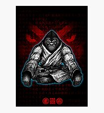 Black Belt Gorilla  Photographic Print