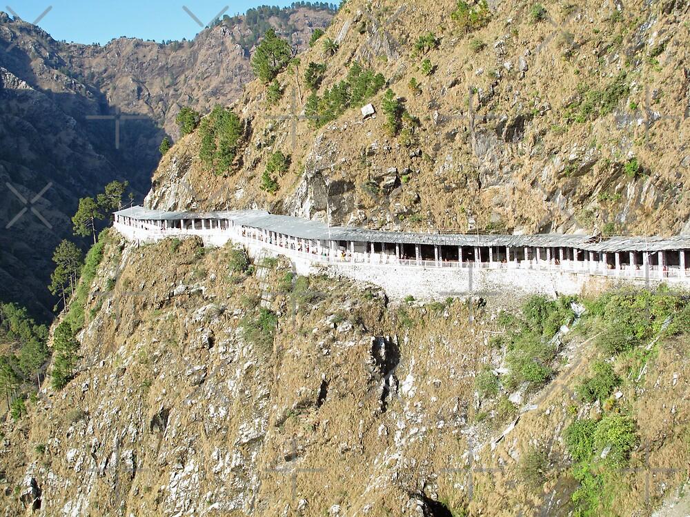 Path Leading to the shrine of Vaishno Devi by ashishagarwal74
