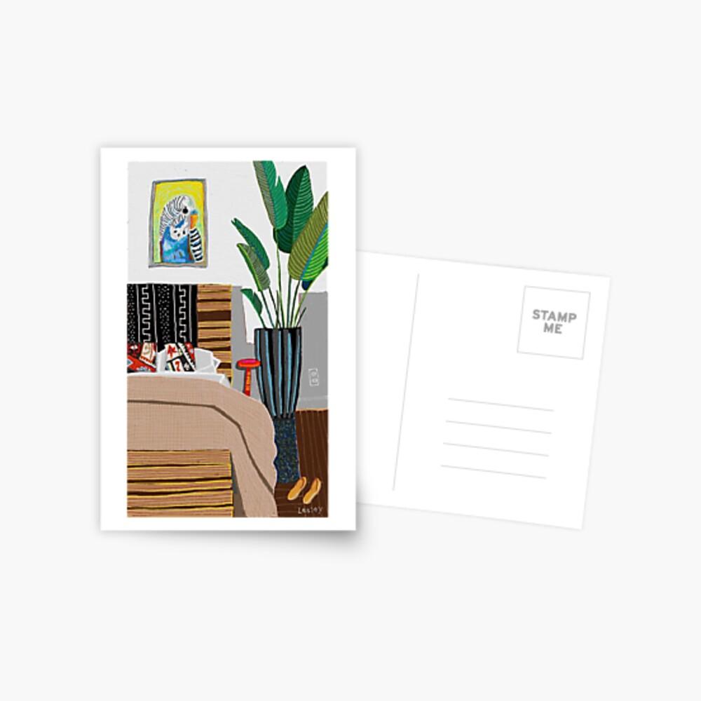 Budgie room Postcard