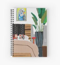 Budgie room Spiral Notebook