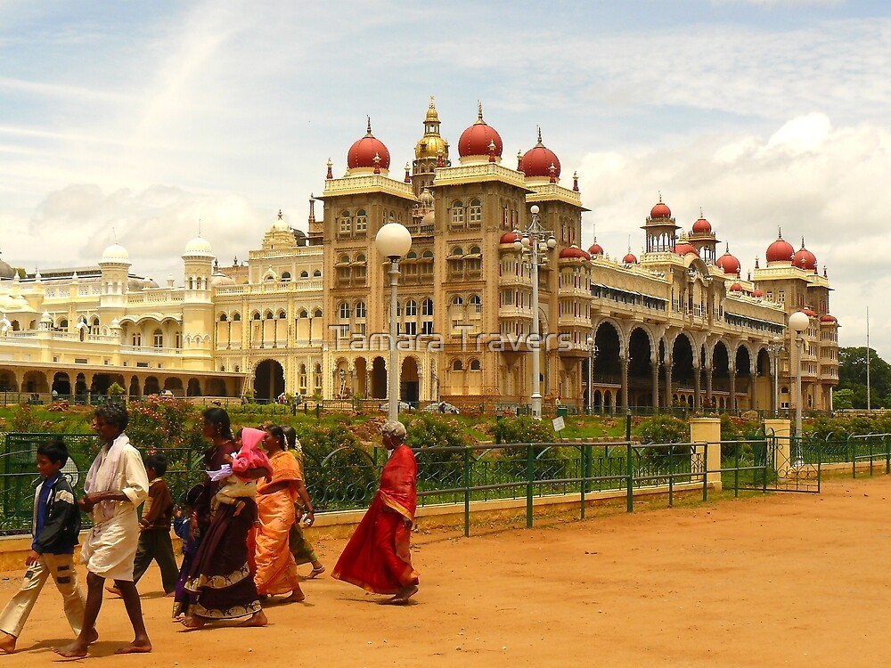 Mysore Palace by Tamara Travers