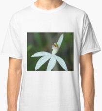 Lady finger orchid .. Caladenia catenata Classic T-Shirt