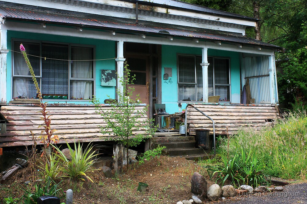 Picturesque decay at Reefton by Duncan Cunningham