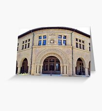 Stanford University History Building Greeting Card