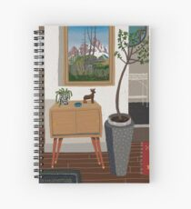 Townhouse entry Spiral Notebook