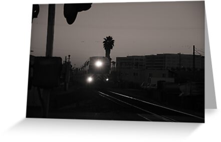 Evening Train Out Of Town by Bob Wall