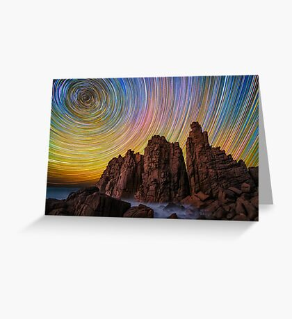 Pinnacles Greeting Card