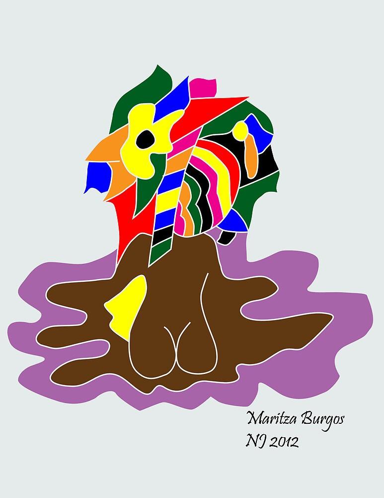 """Immersed"" by Maritza Burgos"