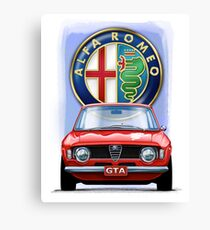 Alfa Romeo GTA Canvas Print