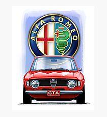 Alfa Romeo GTA Photographic Print