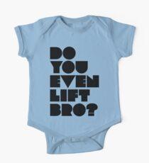 Do You Even Lift, Bro? Kids Clothes