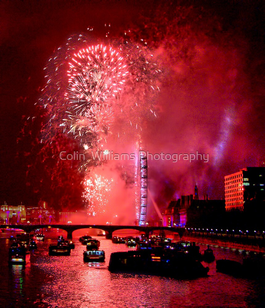 Goodbye 2012 From London 3 - HDR by Colin  Williams Photography