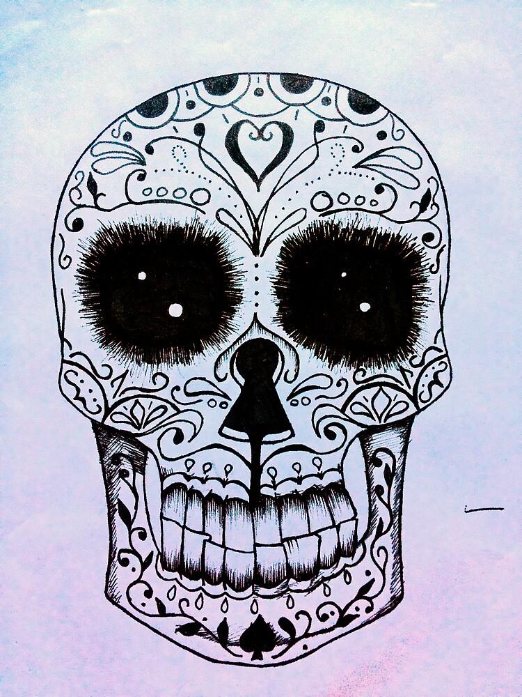 Day of the Dead skull by Vikterhugo