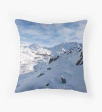 Val Thorens Throw Pillow
