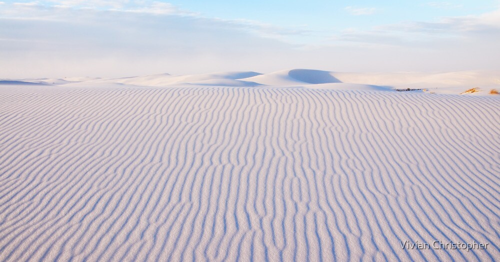 White Sands Serenity by Vivian Christopher