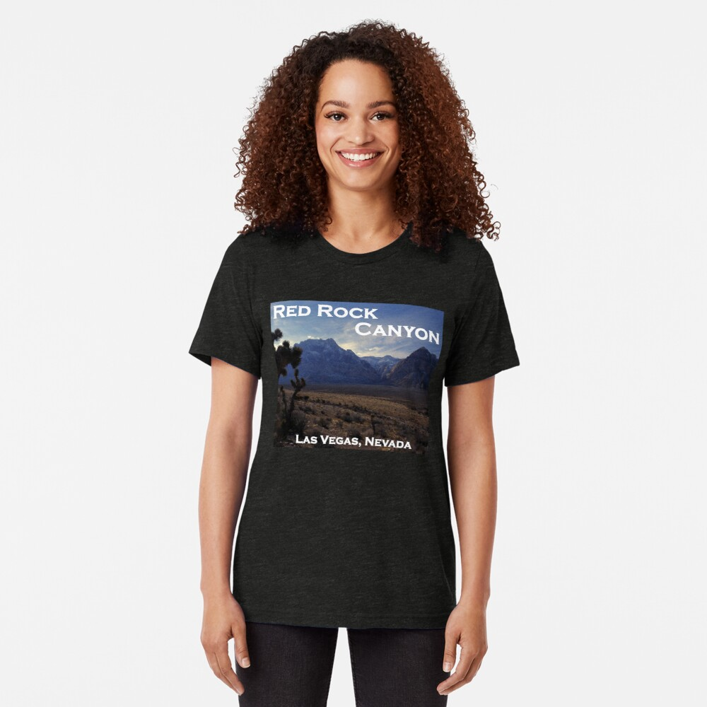Red Rock Canyon National Conservation Area, Nevada Tri-blend T-Shirt