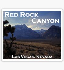 Red Rock Canyon National Conservation Area, Nevada Sticker