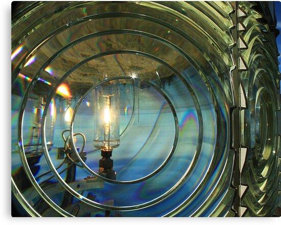 Cape Blanco Lighthouse Lens by James Eddy