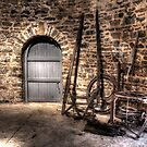 Inside the Old Grain Mill Nimmitabel Rural NSW  no2 by Kym Bradley