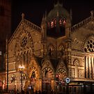 Old South Church at nightfall by Owed To Nature