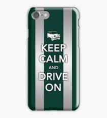 Mini Bonnet-British Racing Green iPhone Case/Skin