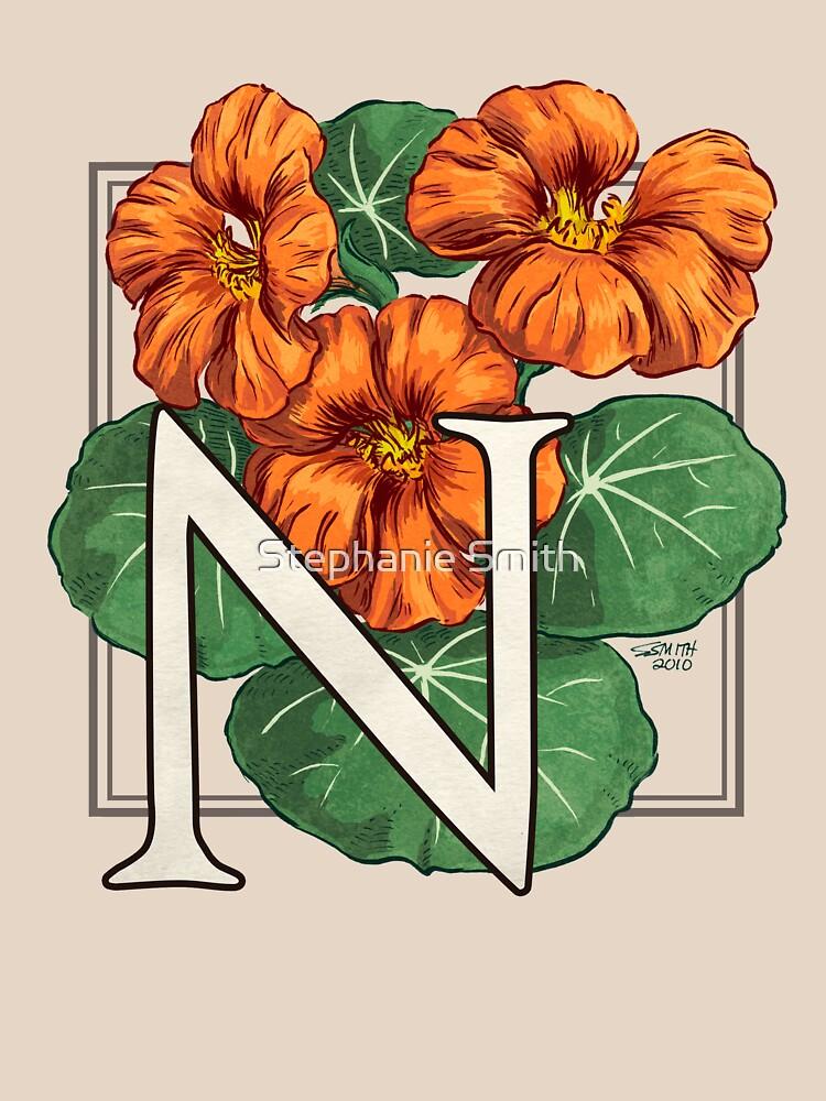 N is for Nasturtium by stephsmith