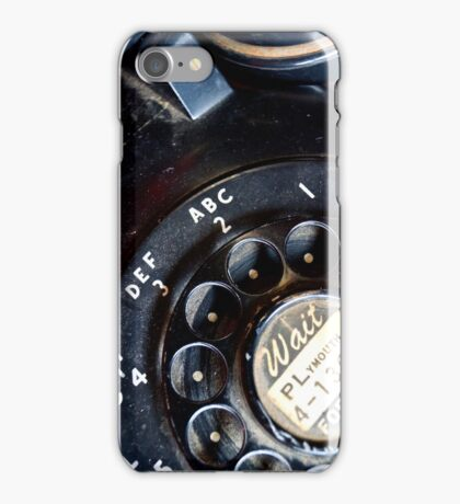 Don't Leave Me Hanging On The Telephone... iPhone Case/Skin