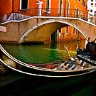Gondola in Venice  by philipmatthews5