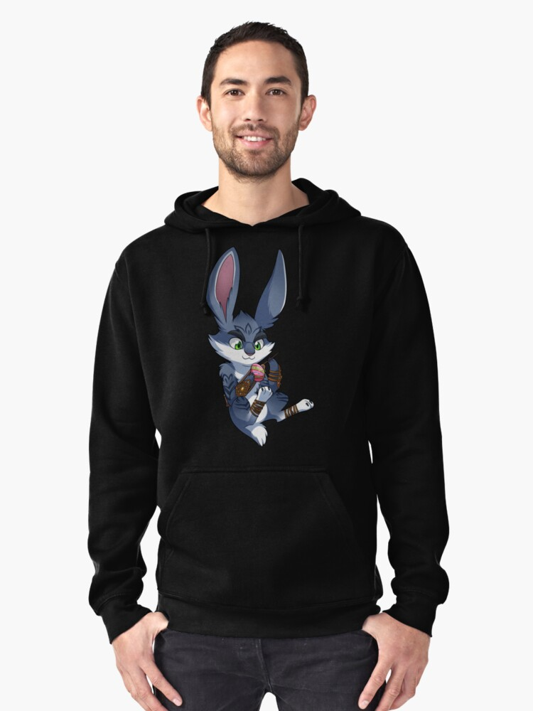 RoTG - Bunnymund Pullover Hoodie Front