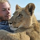 The orphan lion cub Kalahari Grasslands Predator Project by vawtjwphoto