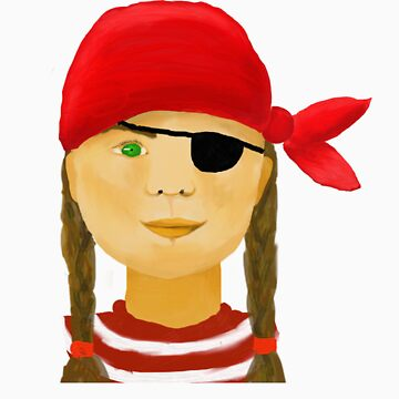 Little Pirate Girl by Andrea-Meyer