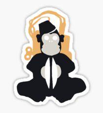 Monkey Bomb Sticker