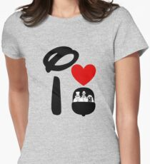 I Heart Haunted Mansion Womens Fitted T-Shirt