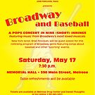 Broadway and Baseball (June 2008) by polymniachorus