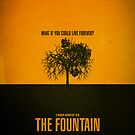 """Movie Poster - """"THE FOUNTAIN"""" by Mark Hyland"""