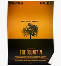 """Movie Poster - """"THE FOUNTAIN"""" Poster"""