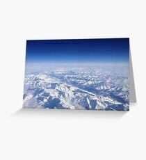 The Alps Grußkarte