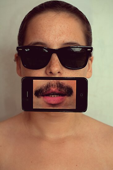 mustache~ by michal beer