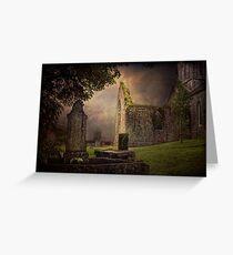 Irish Cemetery Greeting Card
