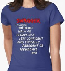 SWAGGER Womens Fitted T-Shirt