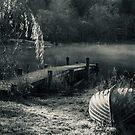 Mist On Loch Ard by Brian Kerr