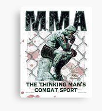 MMA The Thinking Man's Combat Sport Canvas Print