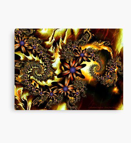 Festive Autumn Canvas Print