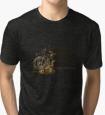 Bikes, Bones and Wind  Tri-blend T-Shirt