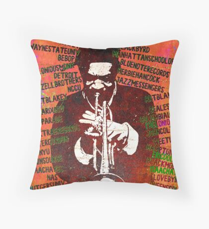 History of Byrd - Part 1 Throw Pillow