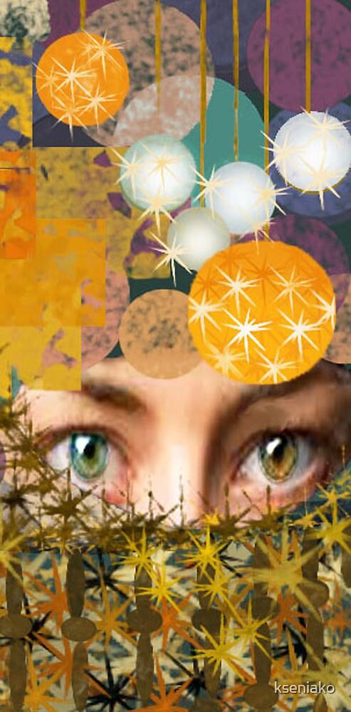 variegated eyes  by kseniako